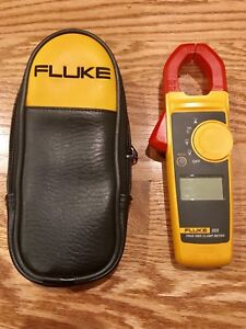 Fluke 323 True Rms Clamp Meter No Probes Included Great Condition