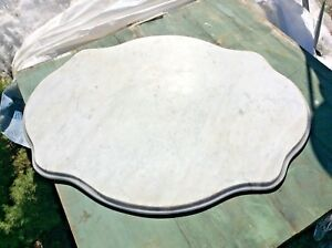 Antique Marble For Victorian Turtle Top Table 36 X 28