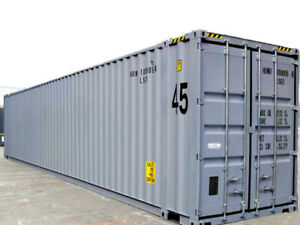 45ft High Cube 9 6 High New one trip Shipping Container Houston Texas