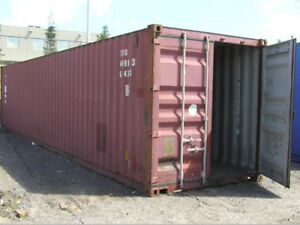 40ft High Cube 9 6 Shipping Container wind Watertight Houston Texas