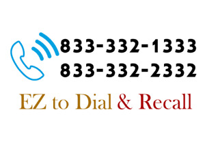 Premium Easy To Dial Toll Free Number Fast Recall Choice Of One