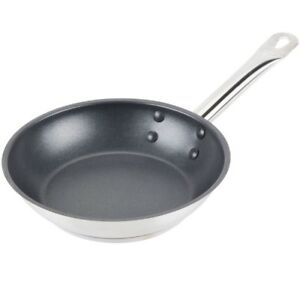 Royal Industries Non stick Frying Pan 8 X 1 6 Ht Stainless Steel Commercial