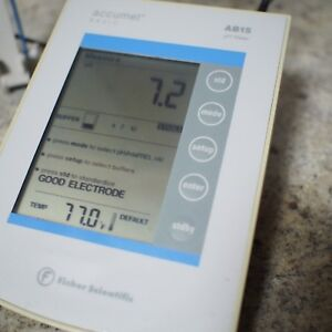 Fisher Scientific Ph Meter Accumet Ab15 Works Perfectly Comes With Charger