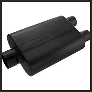 Flowmaster 40 Series Muffler 3 Inch In Dual 2 1 2 Inch Outlets 430402