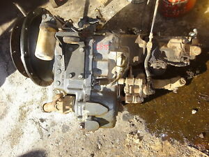 New Holland Lb75 4wd Transmission Transaxle Mfwd Lb 75 Backhoe Loader Ford