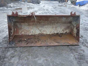 New Holland Lb75 Front Loader Bucket 88 Lb 75 Backhoe Loader Ford