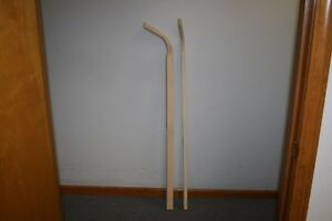 Set Of 2 New 54 Replacement Wooden plow Light Garden Plow Handles