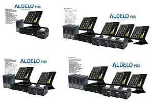Aldelo Pos Pro Advanced Complete Bar Computer System 1 365 Each Station