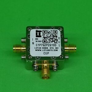 Directional Coupler 1 7 Ghz To 2 2 Ghz 10db 2w Low Insertion Loss