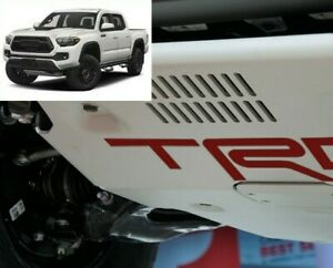 Premium Cast Vinyl Decal Inserts For 2017 Tacoma Trd Pro Skid Plate