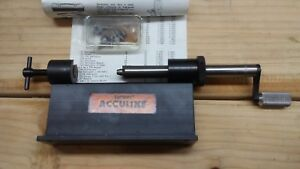 Lyman Acculine Case Trimmer with all of the pilots new used once