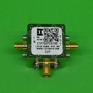 Directional Coupler 1 7 Ghz To 2 2 Ghz 15db 2w Low Insertion Loss