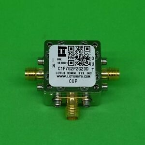 Directional Coupler 1 7 Ghz To 2 2 Ghz 20db 2w Low Insertion Loss