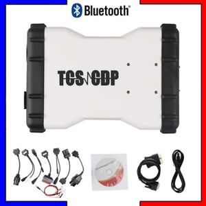 Tcs Cdp Pro Plus Obd2 Obdii Car Truck Scanner Bluetooth Diagnostic Tool cable I