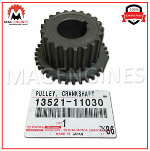 13521 11030 Toyota Genuine Crankshaft Timing Pulley For Paseo Tercel
