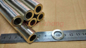 Lots 50 100 20mm X 2mm Hole 12mm Round Ring Magnets Rare Earth Neodymium N50