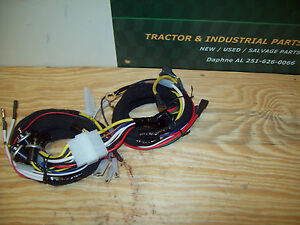 Ford Tractor 2000 3000 4000 Wiring Harness Set Diesel With Generator 1965 1974