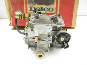New Acdelco 17066500 Carburetor 80 83 Jeep 2 5l Rochester Varajet Ii R2 2se 2bbl