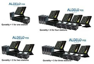 Aldelo Pos Pro Advanced Steakhouse Computer System 1 365 Each