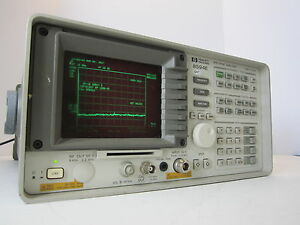 Hp Spectrum Analyzer 8594e 9 Khz 2 9 Ghz Opt 041 101 140
