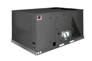 Rheem 12 5 Ton Commercial Gas electric Package Unit 208 230 3 Phase