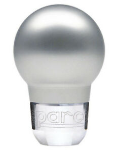 Sparco Racing Shift Knob Silver 037401an