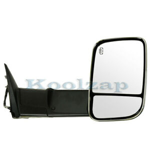 Ram Pickup Truck Power Heat Signal Puddle Light Tow Mirror Right Passenger Side