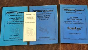 3 Thermal Dynamics Plasma Cutter Torch Power Supply Hand Torch Service Manual