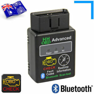 Hhobd Elm327 Obd2 Odbii Bluetooth Can Bus Scanner Car Torque Android Pc