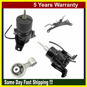 Fits Nissan Maxima Altima 3 5l Engine Motor Trans Mount Set 4pcs Automatic