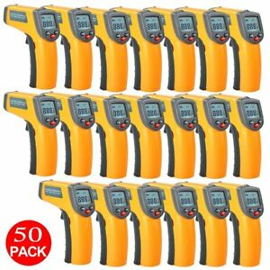 50x Noncontact Temperature Gun Digital Temp Meter Infrared Ir Thermometer Kz