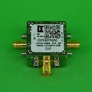 Directional Coupler 3 3 Ghz To 3 8 Ghz 5db 2w Low Insertion Loss