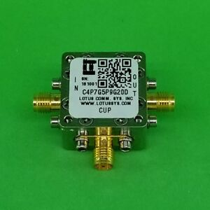 Directional Coupler 4 7 Ghz To 5 9 Ghz 20db 2w Low Insertion Loss