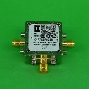 Directional Coupler 4 7 Ghz To 5 9 Ghz 5db 2w Low Insertion Loss