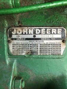 Antique John Deere 420 Crawler