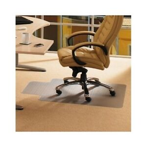 Carpet Chair Mat Protector Chairmat Office Desk Plastic Protection Gripper Clear