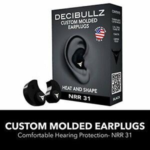 Hearing Protection Custom Molded Ear Plugs Comfortable For Work Shooting Travel