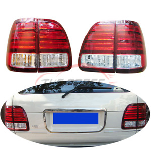 1pair Tail Lights For 1998 To 2002 Year Lexus Lx470 Car Led Rear Lamps Original