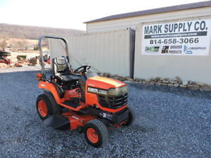 2002 Kubota Bx1500 Compact Tractor Belly Mower 48 Cut Deck 4x4 Diesel Video