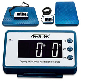 New Metal Industry Scale Heavy Duty Digital Limit By Accuteck Weight 440lb
