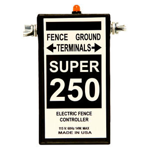 Fence Charger Silver Streak Super 250 Free Lightning Diverter