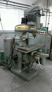 Bridgeport Series 1 Cnc Vertical Mill Milling Machine 3 Axis
