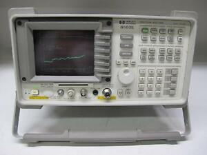Agilent Hp 8593e Spectrum Analyzer 9 Khz 22 Ghz Opt 041