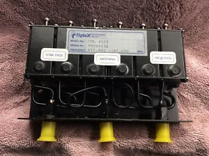Fiplex Dcl4533 Uhf 440 470 Mhz Duplexer Used