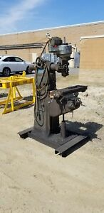 Bridgeport 1 Hp Milling Machine W table 9 X 32 208 230 440 Volt