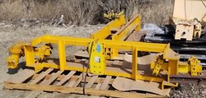 Gorbel 5 Ton Capacity Underslung Crane Powered End Truck Set W 5 Ton Elect Hoist