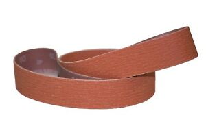 2 x48 Sanding Belts Variety Pack Orange Ceramic 2 Each 36 60 120 Grit