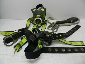 Fallsafe Fall Protection Safety Harness Fs285 L xl With Gemtok Lanyard