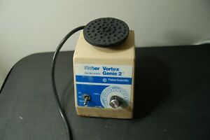 Fisher Genie 2 Vortexer Vortex Shaker Mixer Used Lab Rotator Mini Touch View