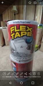 9 Rolls Flex Tape 4 X 5 Super Strong Rubber Waterproof As Seen On Tv White